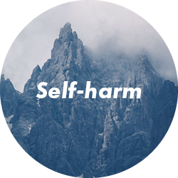 types of therapy self harm
